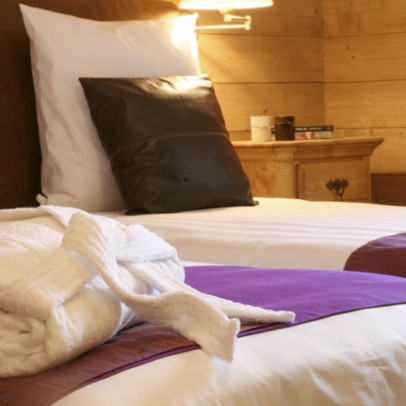 French Alps - boutique hotel bedrm