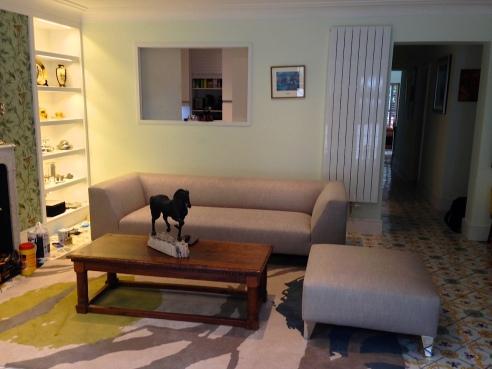 Refurbished flat in Virginia Woolf's home