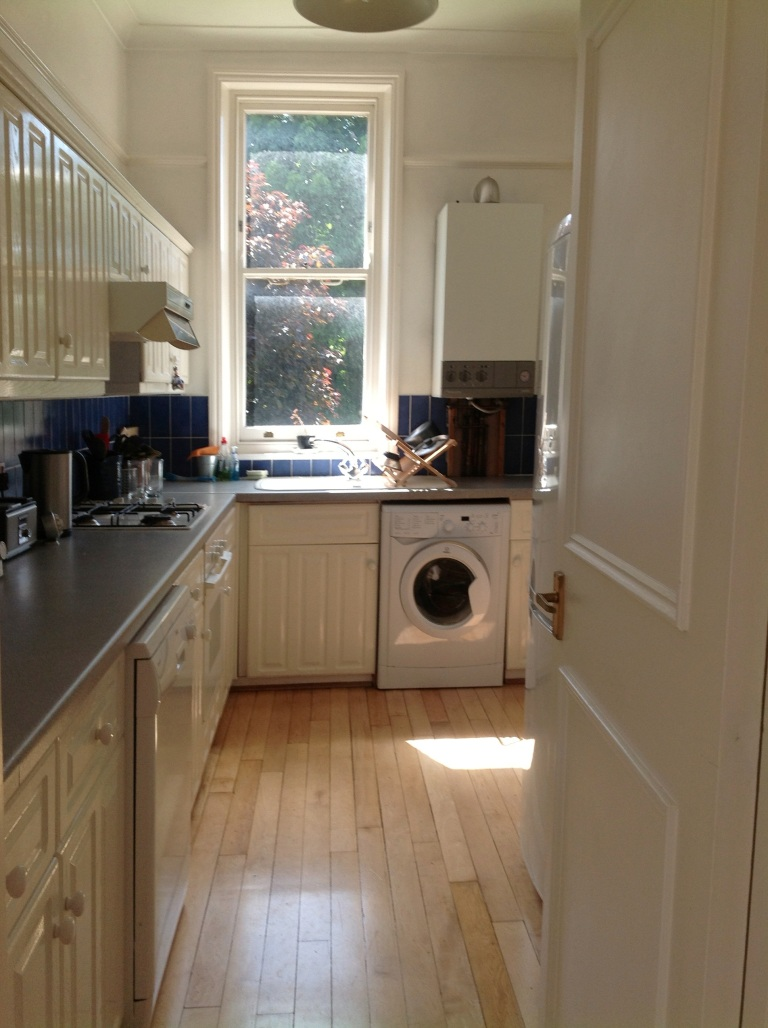 Before kitchen - Kentish Town